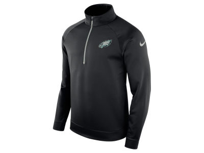 Philadelphia Eagles Nike NFL Men's Lightweight Therma Quarter Zip Pullover