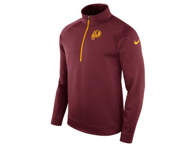 Washington Redskins Nike NFL Men's Lightweight Therma Quarter Zip Pullover