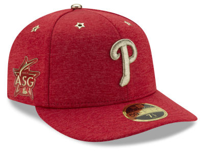Philadelphia Phillies New Era 2017 MLB All-Star Game Patch Low Profile 59FIFTY Cap