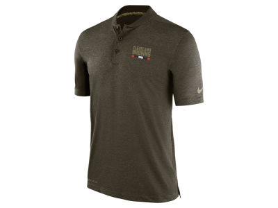 Cleveland Browns Nike 2017 NFL Men's Salute To Service Polo