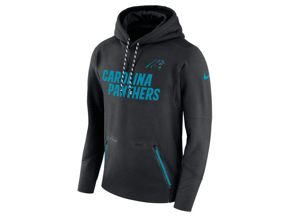 Carolina Panthers Nike NFL Men s Player Therma Pull Over Hoodie ... 330426e67