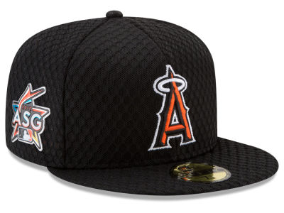 Los Angeles Angels New Era 2017 MLB All Star Game Home Run Derby Patch 59FIFTY Cap