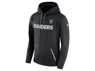 Oakland Raiders Nike NFL Men's Player Therma Pull Over Hoodie