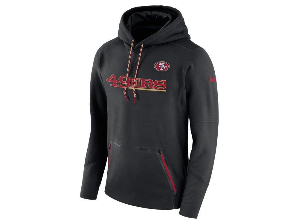 San Francisco 49ers Nike NFL Men s Player Therma Pull Over Hoodie ... 2d756c026