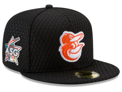 Baltimore Orioles New Era 2017 MLB All Star Game Home Run Derby Patch 59FIFTY Cap