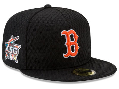 Boston Red Sox New Era 2017 MLB All Star Game Home Run Derby Patch 59FIFTY Cap