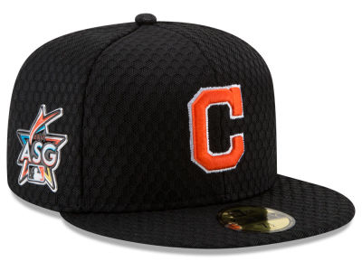 Cleveland Indians New Era 2017 MLB All Star Game Home Run Derby Patch 59FIFTY Cap