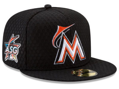 Miami Marlins New Era 2017 MLB All Star Game Home Run Derby Patch 59FIFTY Cap