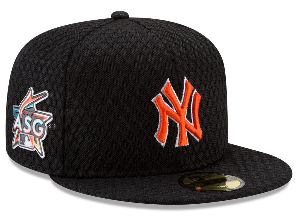 New York Yankees New Era 2017 MLB All Star Game Home Run Derby Patch  59FIFTY Cap  0635ab54902