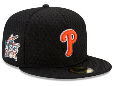 Philadelphia Phillies New Era 2017 MLB All Star Game Home Run Derby Patch 59FIFTY Cap