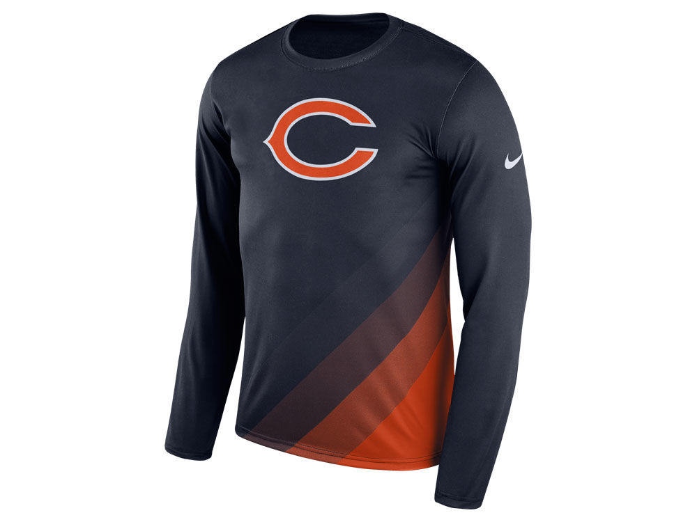 separation shoes 0e713 c12bc Chicago Bears Nike NFL Men's Legend Prism Long Sleeve T-Shirt