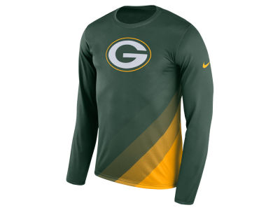 Green Bay Packers Nike NFL Men's Legend Prism Long Sleeve T-Shirt