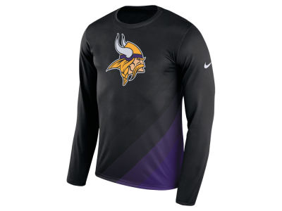 Minnesota Vikings Nike NFL Men's Legend Prism Long Sleeve T-Shirt