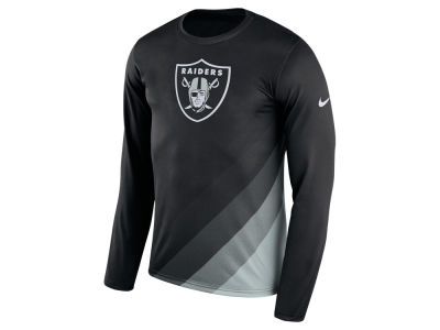 Oakland Raiders Nike NFL Men's Legend Prism Long Sleeve T-Shirt