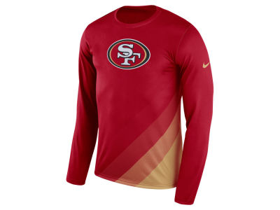 San Francisco 49ers Nike NFL Men's Legend Prism Long Sleeve T-Shirt