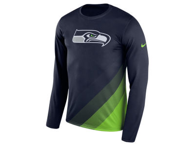Seattle Seahawks Nike NFL Men's Legend Prism Long Sleeve T-Shirt