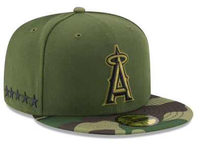Los Angeles Angels New Era 2017 MLB Memorial Day 59FIFTY Cap