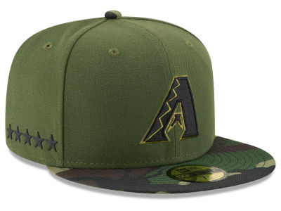 Arizona Diamondbacks New Era 2017 MLB Memorial Day 59FIFTY Cap