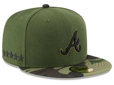 Atlanta Braves New Era 2017 MLB Memorial Day 59FIFTY Cap