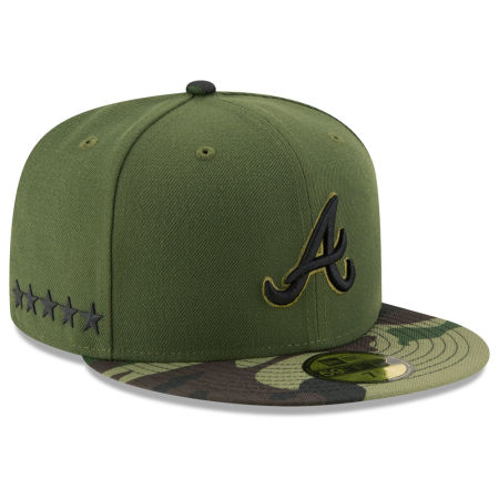 Atlanta Braves New Era 2017 MLB Memorial Day 59FIFTY Cap