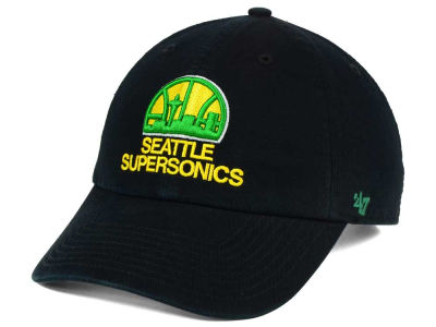 Seattle SuperSonics NBA Hardwood Classics '47 CLEAN UP Cap