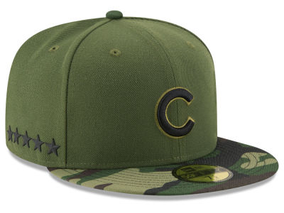Chicago Cubs New Era 2017 MLB Memorial Day 59FIFTY Cap