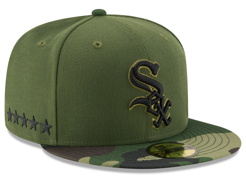 Chicago White Sox New Era 2017 MLB Memorial Day 59FIFTY Cap  e50aa3d403b