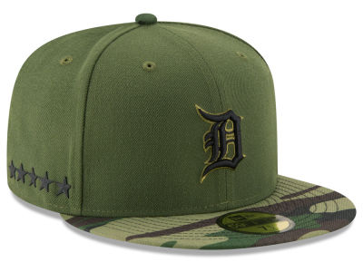 Detroit Tigers New Era 2017 MLB Memorial Day 59FIFTY Cap
