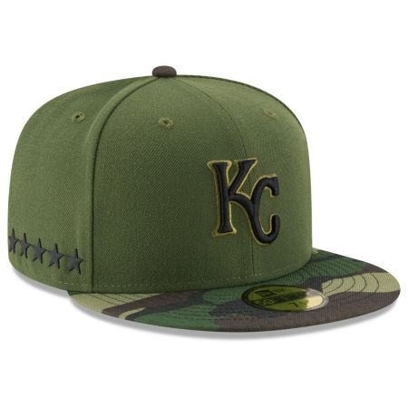 Kansas City Royals New Era 2017 MLB Memorial Day 59FIFTY Cap
