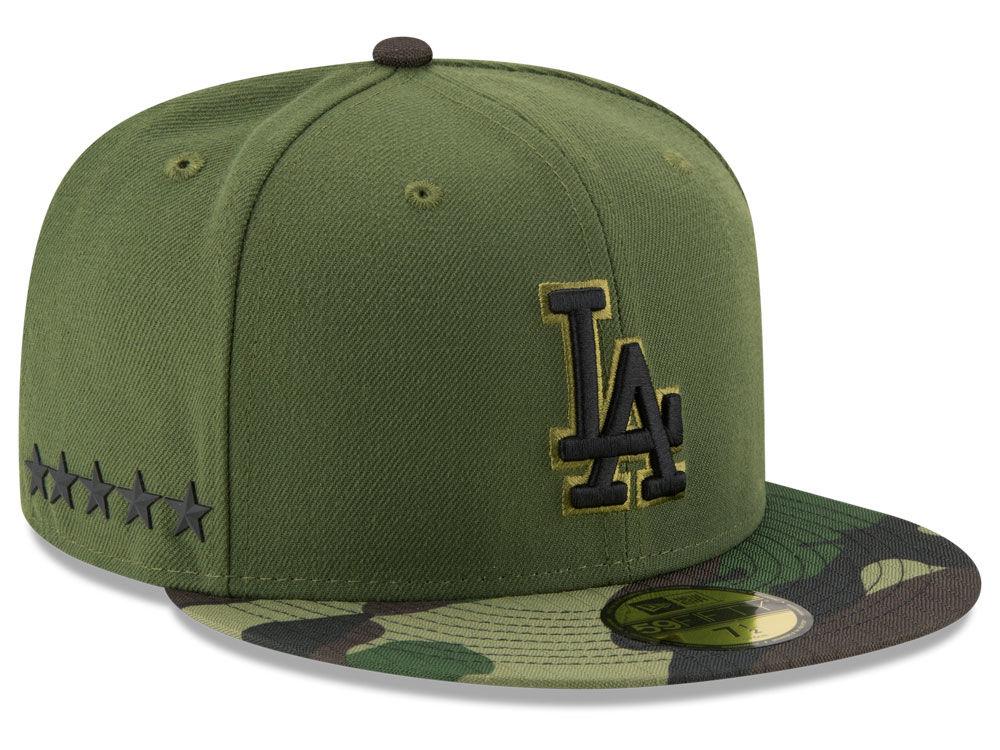 Los Angeles Dodgers New Era 2017 MLB Memorial Day 59FIFTY Cap  afaf2375cf7