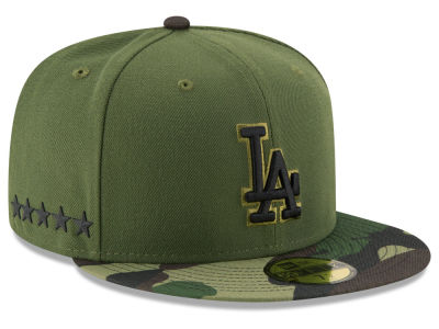 Los Angeles Dodgers New Era 2017 MLB Memorial Day 59FIFTY Cap
