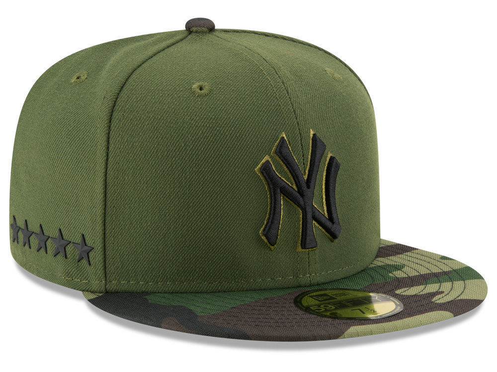 New York Yankees New Era 2017 MLB Memorial Day 59FIFTY Cap  3557eccb80f
