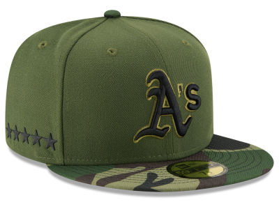 Oakland Athletics New Era 2017 MLB Memorial Day 59FIFTY Cap