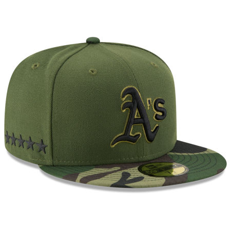Oakland Athletics New Era 2017 MLB Memorial Day 59FIFTY Cap