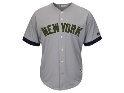 New York Yankees Majestic 2017 MLB Men's USMC Cool Base Jersey