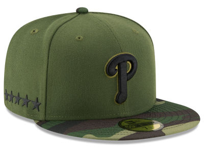 Philadelphia Phillies New Era 2017 MLB Memorial Day 59FIFTY Cap