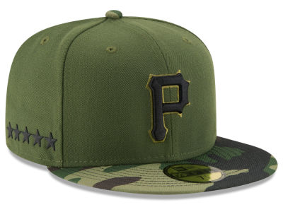 Pittsburgh Pirates New Era 2017 MLB Memorial Day 59FIFTY Cap