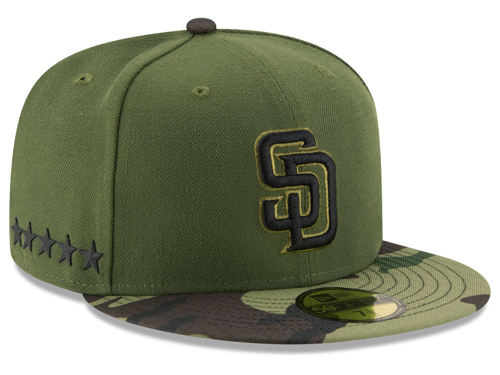 San Diego Padres New Era 2017 MLB Memorial Day 59FIFTY Cap  82259129caa