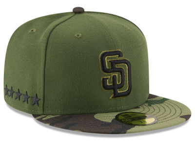 San Diego Padres New Era 2017 MLB Memorial Day 59FIFTY Cap