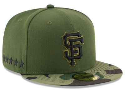 San Francisco Giants New Era 2017 MLB Memorial Day 59FIFTY Cap