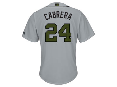 Detroit Tigers Miguel Cabrera 2017 MLB Men's USMC Cool Base Jersey