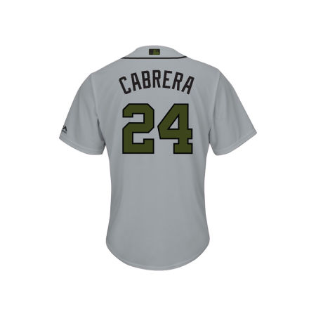 Detroit Tigers Miguel Cabrera 2017 MLB Men's USMC Cool Base Jersey