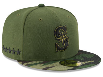 Seattle Mariners New Era 2017 MLB Memorial Day 59FIFTY Cap