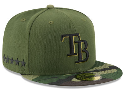 Tampa Bay Rays New Era 2017 MLB Memorial Day 59FIFTY Cap