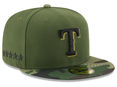 Texas Rangers New Era 2017 MLB Memorial Day 59FIFTY Cap