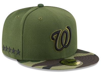 Washington Nationals New Era 2017 MLB Memorial Day 59FIFTY Cap