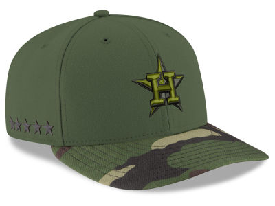 Houston Astros New Era 2017 MLB Memorial Low Profile 59FIFTY Cap