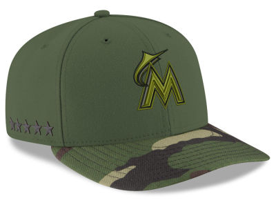 Miami Marlins New Era 2017 MLB Memorial Low Profile 59FIFTY Cap
