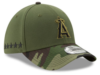 Los Angeles Angels New Era 2017 MLB Memorial Day 39THIRTY Cap