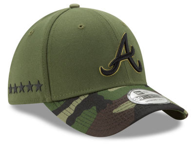 Atlanta Braves New Era 2017 MLB Memorial Day 39THIRTY Cap